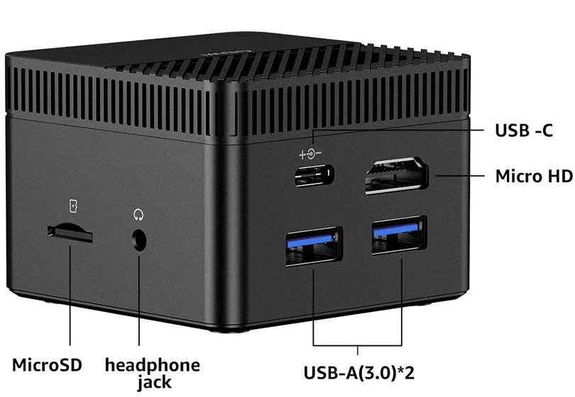 CHUWI Larkbox Pro - Connectivity