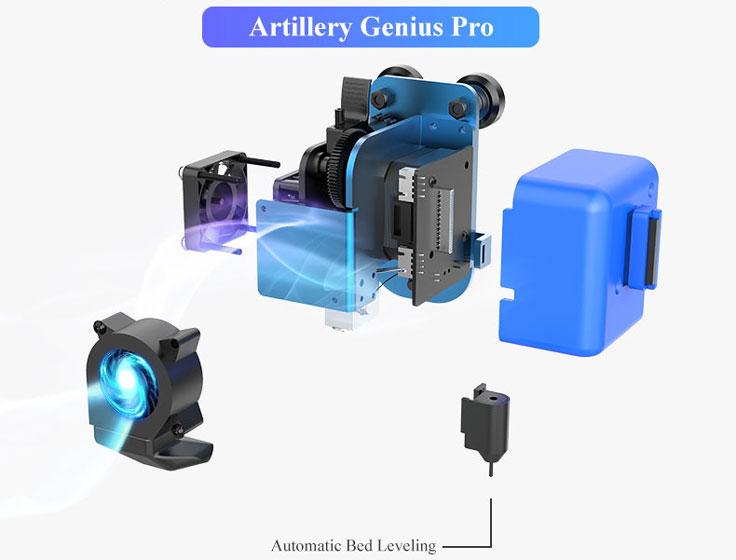 Artillery Genius Pro - Automatic Leveling