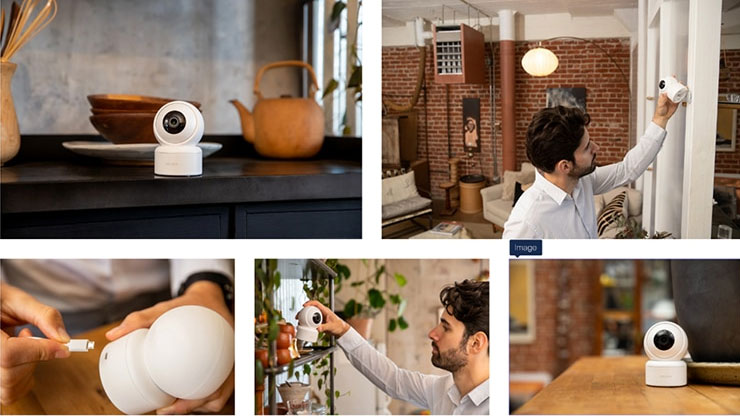 IMILAB C21 Home Security Camera - Installation