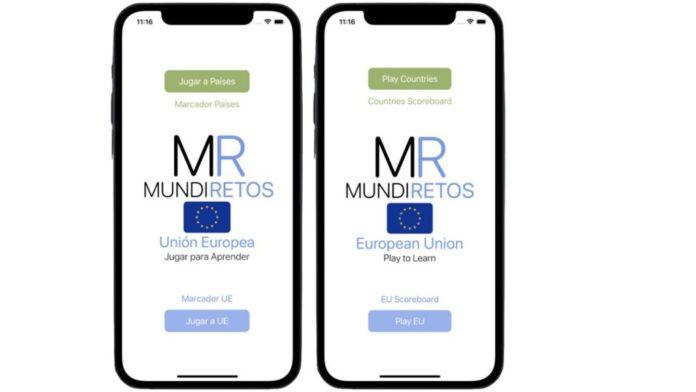 mundiretos european union, a quiz like app to learn about the eu