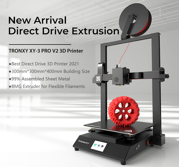 TRONXY XY-3 Pro V2 - Printing Features