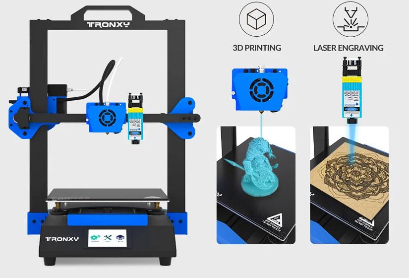 Tronxy XY-3 SE - Laser engraving